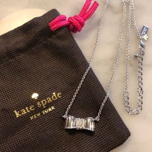 BRAND NEW: Kate Spade Bow Necklace